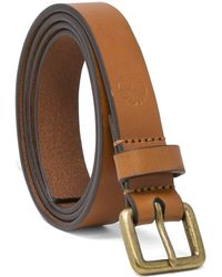 Timberland Casual Leather Belt - Brown