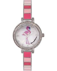 Tommy Bahama Japanese Quartz Stainless Steel Strap - Pink
