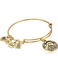 ALEX AND ANI - Team Usa Swimming Bangle Gold One Size - Lyst