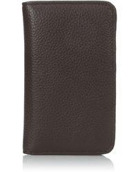Buxton Snap Card Case - Brown