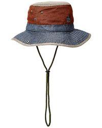 602bdab1 ... italy original penguin rinse safari bucket hat lyst 1c17a c5afe