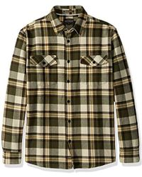41bf96b4754 Tommy Bahama US · Quiksilver - Waterman Cedar Island Woven Button Down Shirt  - Lyst