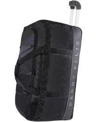 "Perry Ellis 24"" Lightweight Rolling Bag-a324 Duffel Bag - Black"