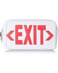 Betsey Johnson This Way Belt Bag - White