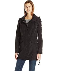 Laundry by Shelli Segal - Anorak With Corset Side Ties - Lyst