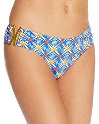 MILLY - Mosaic Print Elba Bikini Bottom - Lyst