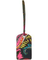 Vera Bradley Signature Cotton Luggage Id Tag - Multicolor