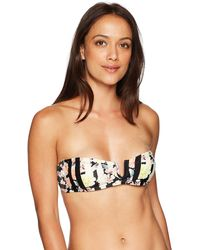 French Connection Bandeau Swim Bikini - Black