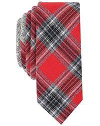 Original Penguin - Men's Mallard Plaid Skinny Tie - Lyst