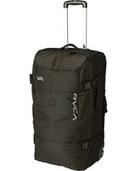 RVCA - Eastern Large Roller Bag Travel Luggage - Lyst