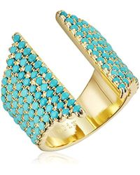 Noir Jewelry - Natatorial Ring - Lyst