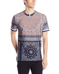Clover Canyon - Paisley Scarf Super Jersey T-shirt - Lyst