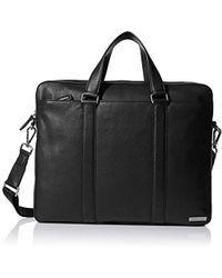 Calvin Klein - Bombe Leather Attache - Lyst