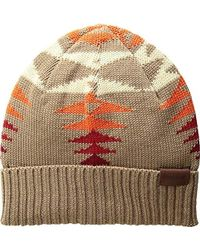 26fe3caf728 Lyst - Pendleton Cuffley Crushable Water-repellent Wool Cap in Brown ...