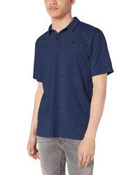 Hurley Nike Dri-fit Short Sleeve Polo - Blue