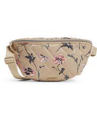 Vera Bradley Performance Twill Convertible Crossbody Belt Bag With Rfid Protection - Black