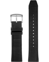 Citizen Cz Smart 22mm Smartwatch Black Leather And Stainless Steel Interchangable Watch Band