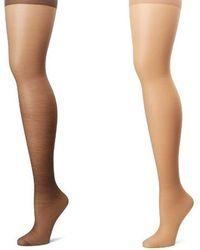 958420dc9a09d Women's Hanes Stockings On Sale - Lyst
