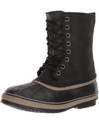 Sorel 1964 Premium T Waterproof Leather Boot - Black