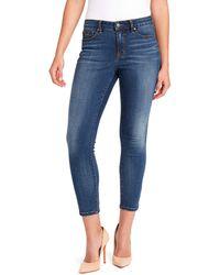 Nine West Misses Gramercy Skinny Ankle Length Jean - Blue
