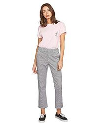 Volcom - Frochickie Rise High Waist Chino Pant - Lyst