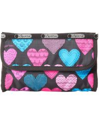 LeSportsac Elena Cosmetic Luggage Accessory Cross My Heart One Size - Multicolor