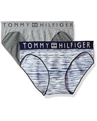 18a46368d7 Lyst - Tommy Hilfiger Seamless Bikini Underwear Panty