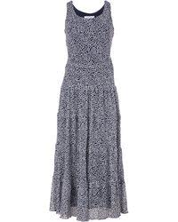 Nine West Yoryu Multi Tier Maxi Dress - Blue