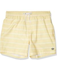 "Sperry Top-Sider 7"" Stretch Swim Trunks - Natural"