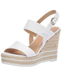 Nine West Alivia Wedge Sandal - White