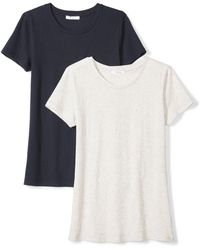 Daily Ritual Featherweight Cotton Short-sleeve Crew Neck - Multicolor
