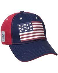 U.S. POLO ASSN. - American Flag Baseball Hat - Lyst