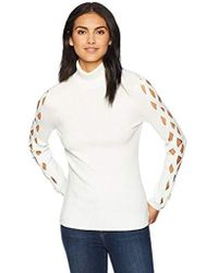 Ramy Brook - Kimila Ribbed Sweater - Lyst