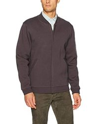 Pendleton Baseball Jacket In Knit Jacquard - Gray