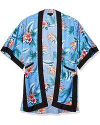 Steve Madden Classic Kimono Duster - Blue