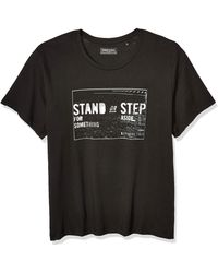 Kenneth Cole Reaction Short Sleeve Graphic Tee - Black