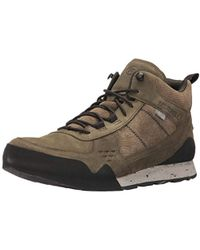 Merrell - Burnt Rock Mid Waterproof Fashion Sneaker - Lyst