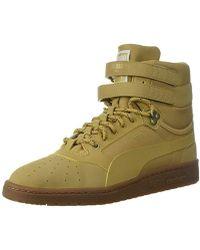 b045690f3e2 Lyst - PUMA Sky Ii Hi Weatherproof Sneaker in Black for Men
