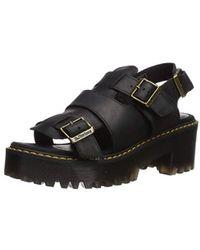 d7944b1715e6 Dr. Martens - Ariel Sanguine (burgundy) Women s Sandals - Lyst