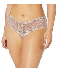 Cosabella Plus Size Savona Extended Lowrider Hotpant - Natural