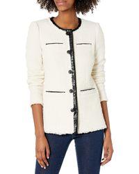 Rebecca Taylor Tweed Jacket - Natural