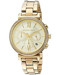 Michael Kors - Watches S Sofie Gold-tone Watch - Lyst