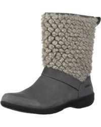 Merrell Encore Kassie Tall Wool Fashion Boot - Grey