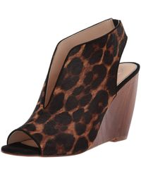 Jessica Simpson Coletta Wedge Sandals - Brown