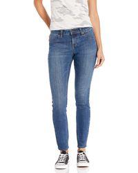 Volcom 's Liberator Legging Fit Denim Jean Pants - Blue