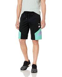 PUMA X MTV MCS All Over Print Shorts - Schwarz