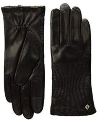 2f80a4c8350 Cole Haan - Genevieve Woven Glove - Lyst
