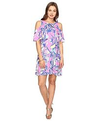 95f27d76d632bd Lilly Pulitzer Vea Tunic Dress in Pink - Lyst