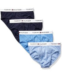 Tommy Hilfiger Underwear Multipack Cotton Classic Briefs - Blue