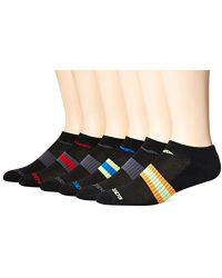 Saucony - 6 Pair Performance Comfort Fit No-show Socks - Lyst